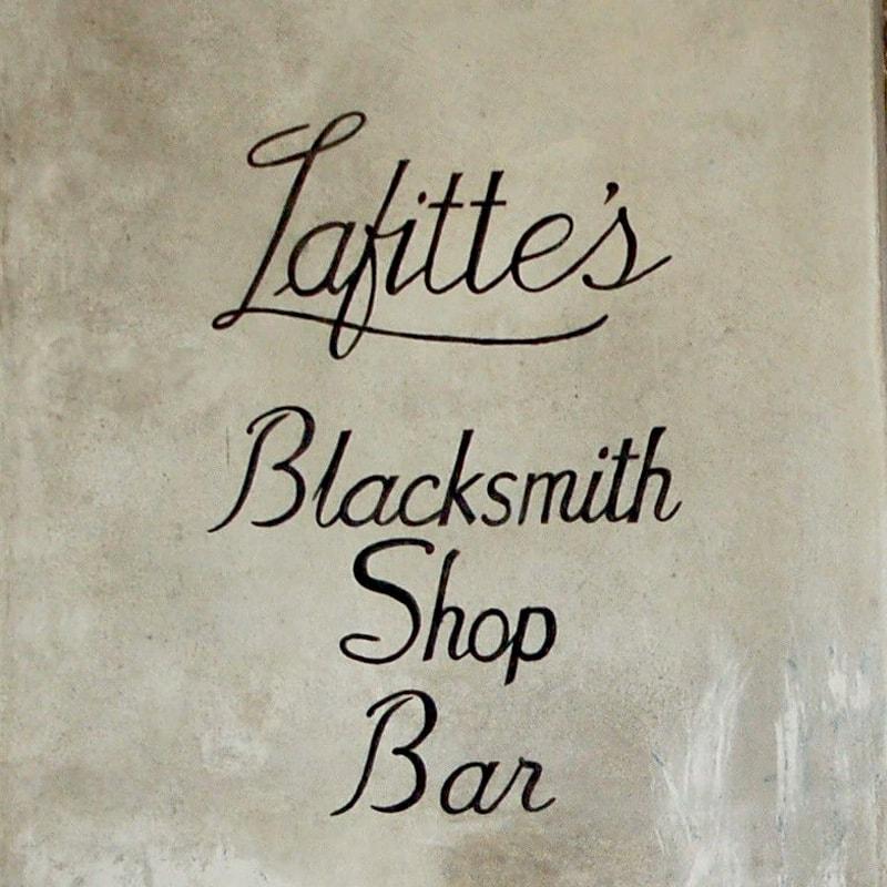 Lafitte's Blacksmith Shop Bar Bourbon Street
