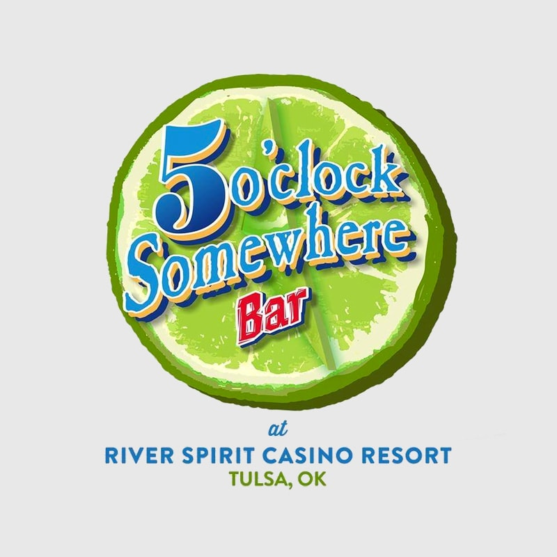 5 OClock Somewhere Bar River Spirit Casino Resort Tulsa